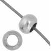 Metal Bead 4X3.4x1.8mm Antique Silver